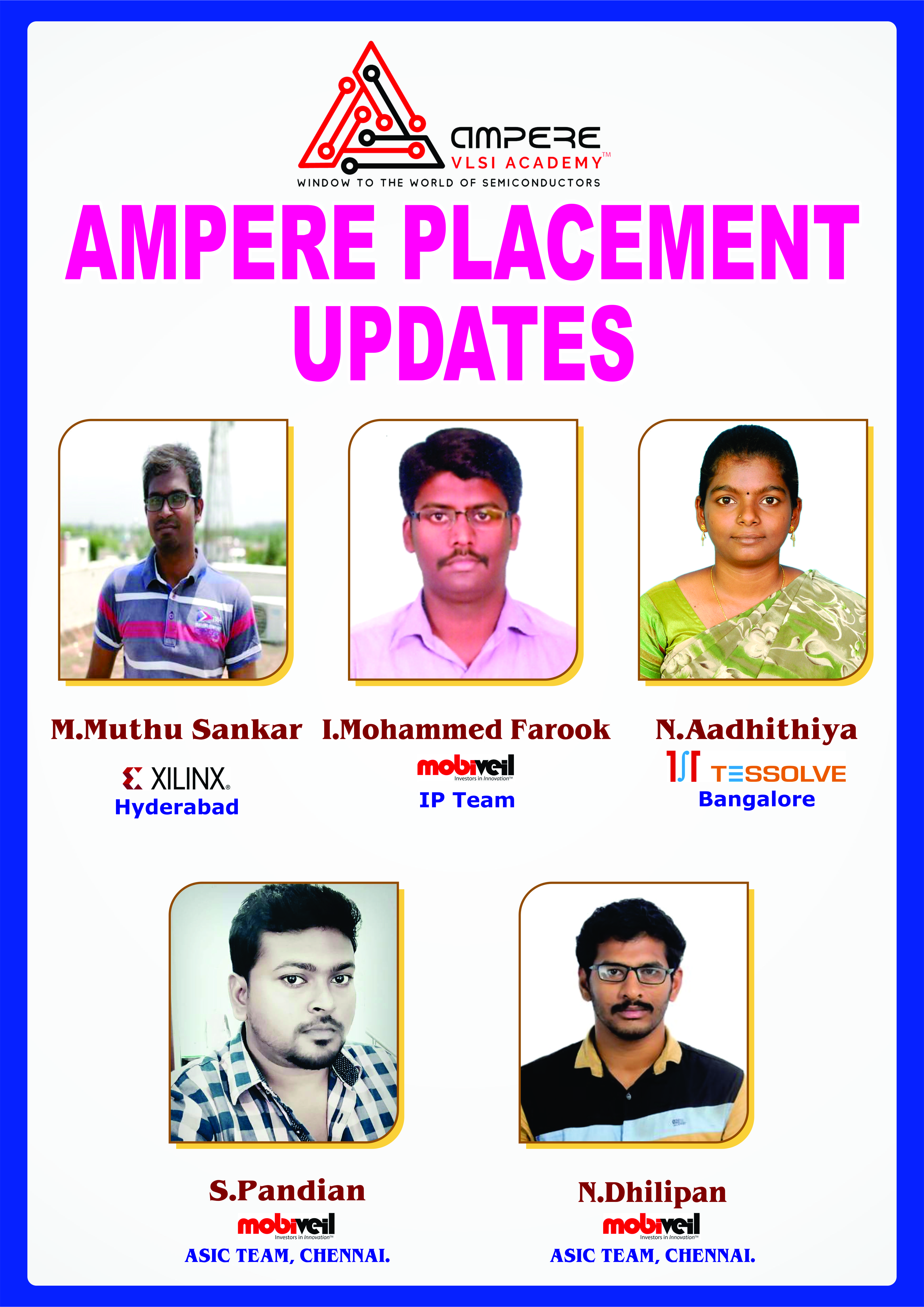 Ampere Academy- Top VLSI Institutes in Bangalore